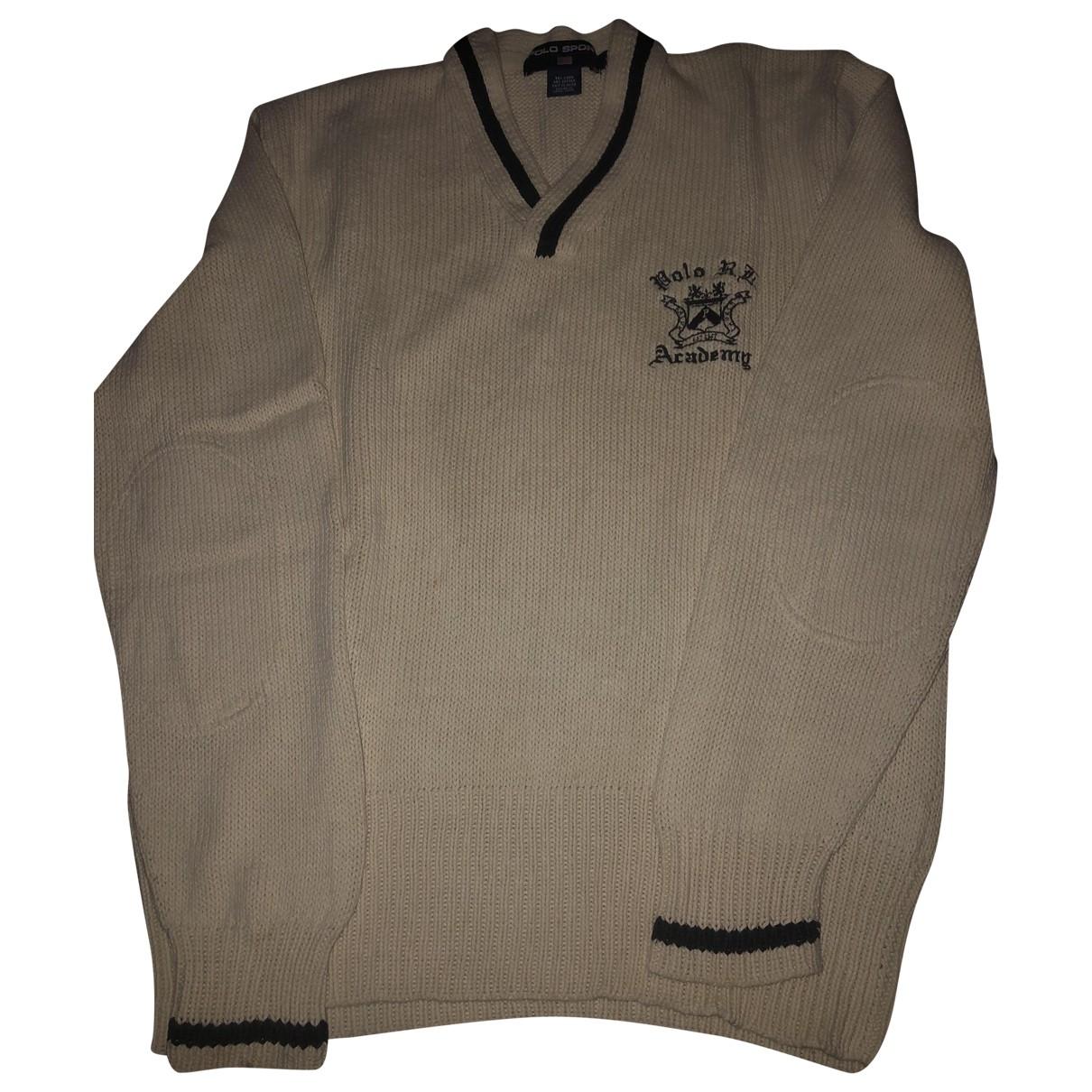 Polo Ralph Lauren \N Beige Cotton Knitwear & Sweatshirts for Men L International