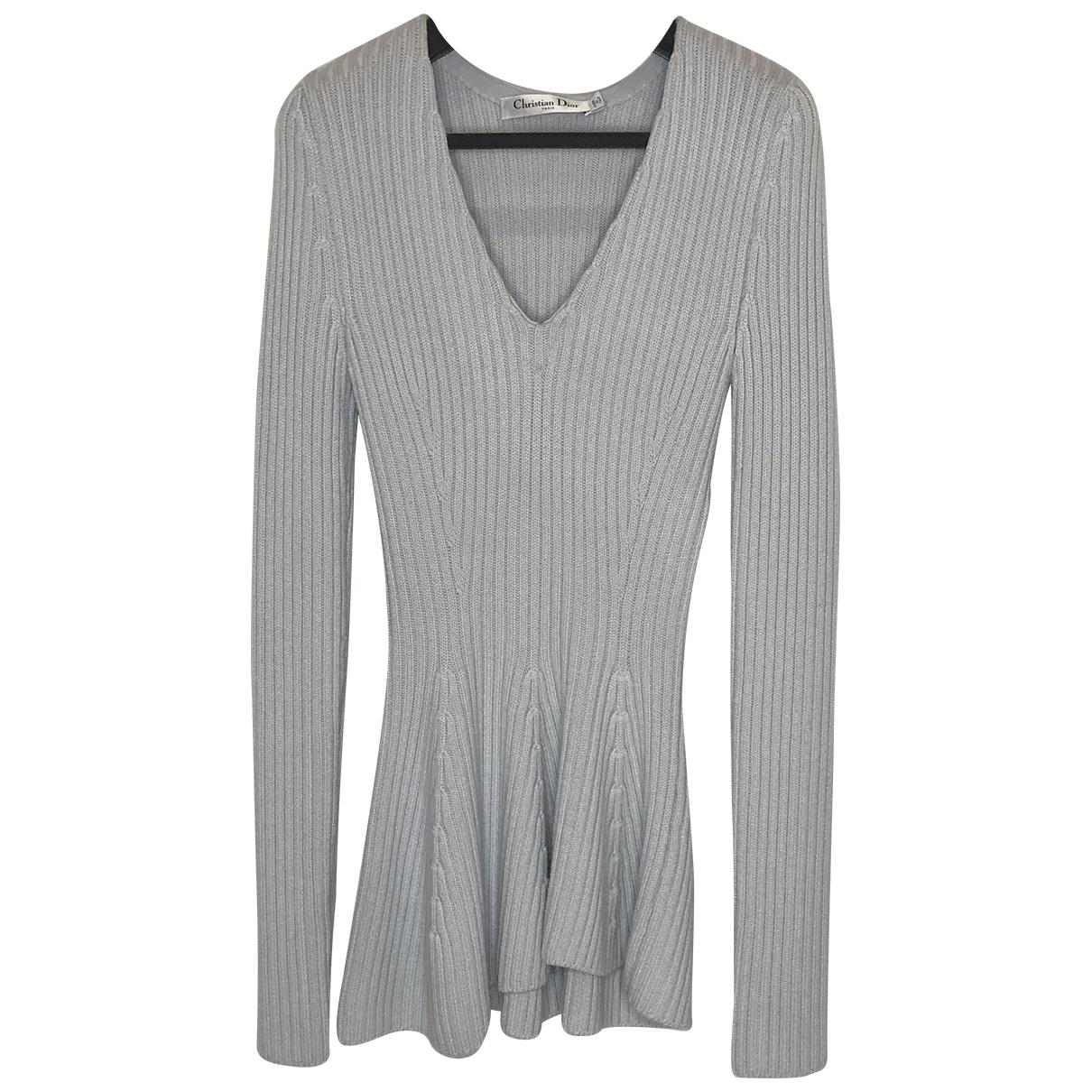 Dior \N Grey Wool  top for Women 40 FR