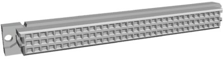 TE Connectivity , Eurocard 96 Way 2.54mm Pitch, Type C Class C2, 3 Row, Straight DIN 41612 Connector, Socket