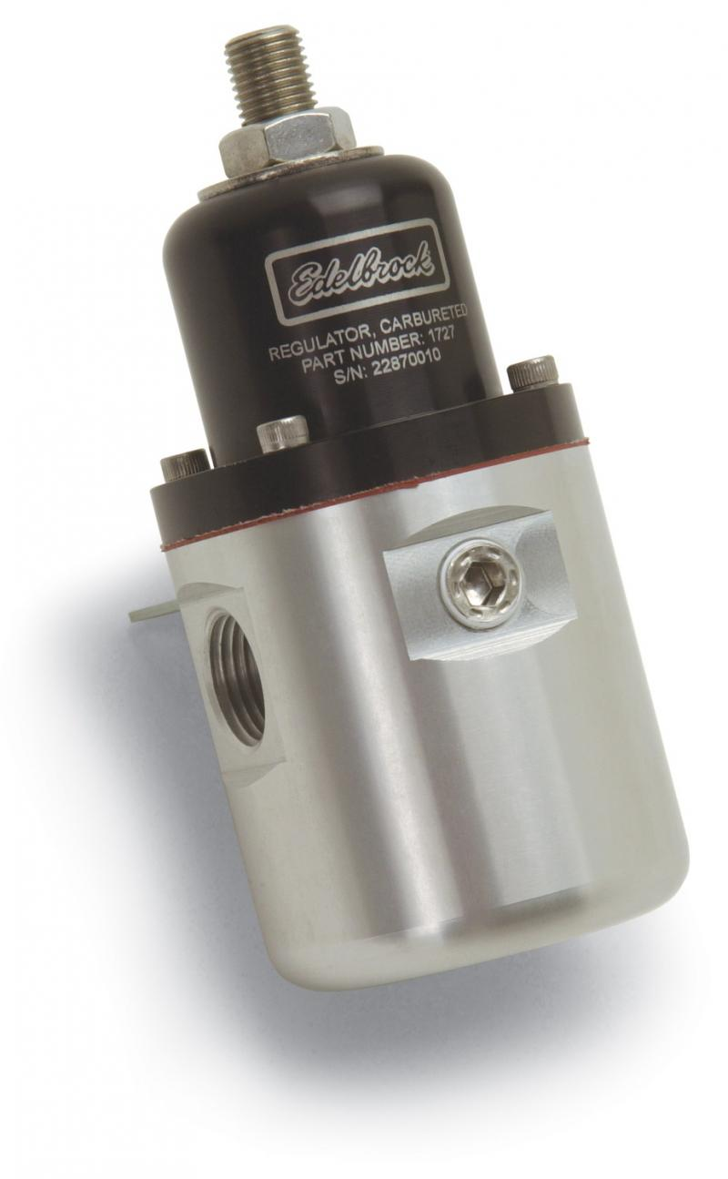 Russell FUEL PRESSURE REGULATOR; CARBURETED; 160 GPH; 5-10 PSI; 3/8in. IN; 3/8in. OUT (2
