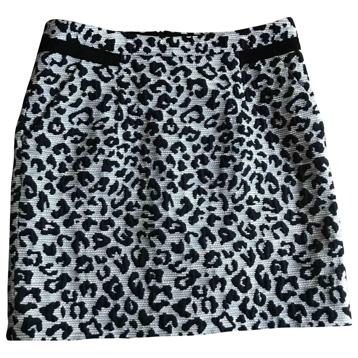 Comptoir Des Cotonniers \N Black Cotton skirt for Women 34 FR