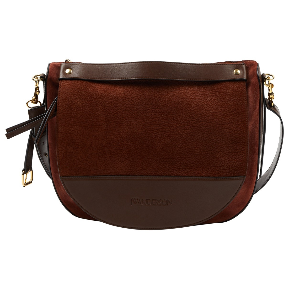 J.w. Anderson Moon Brown Leather handbag for Women \N