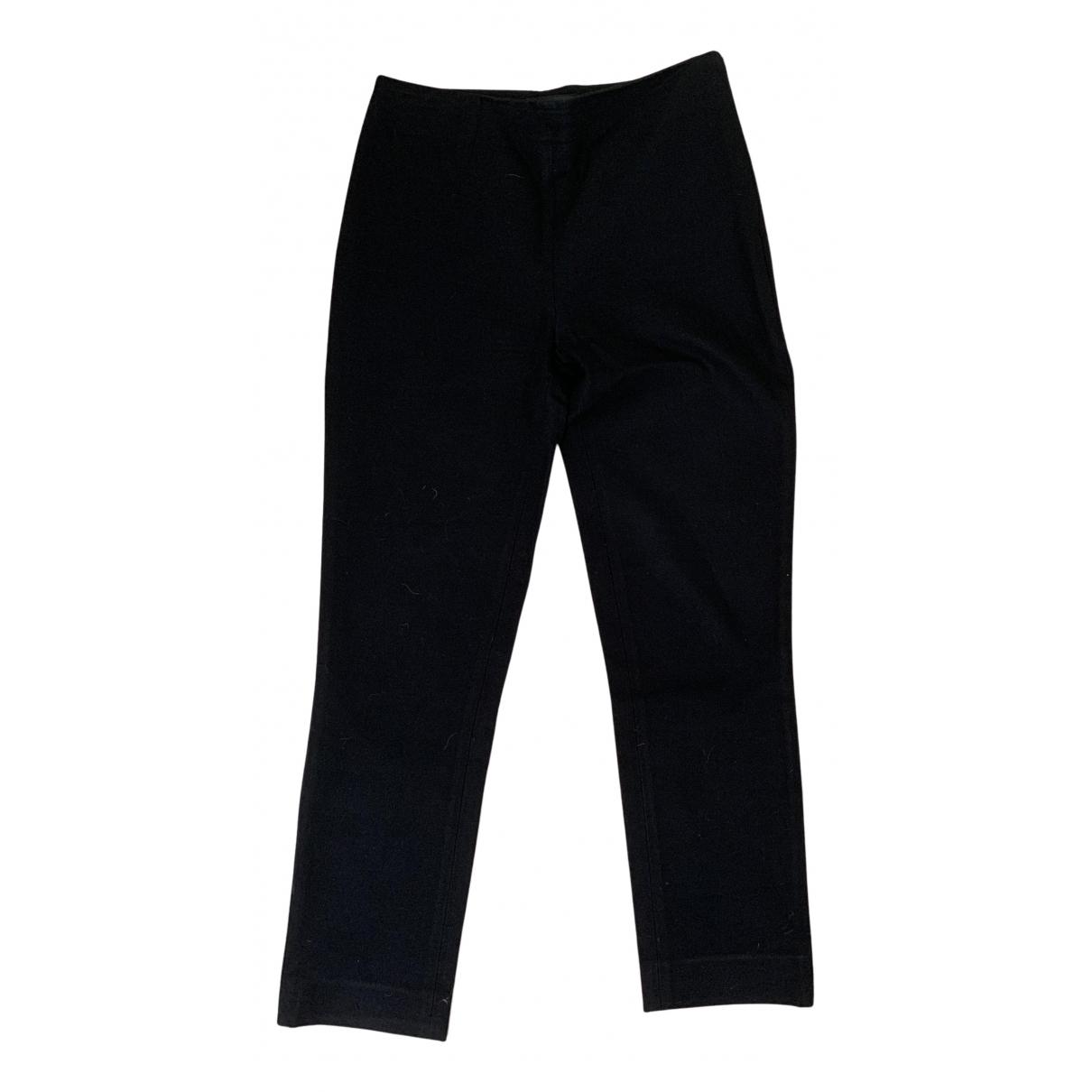 Joseph N Black Trousers for Women 34 FR