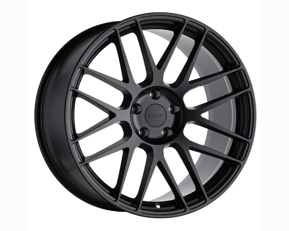 TSW Nord Wheel 20x10.5 5x114.30 42 Semi Gloss Black