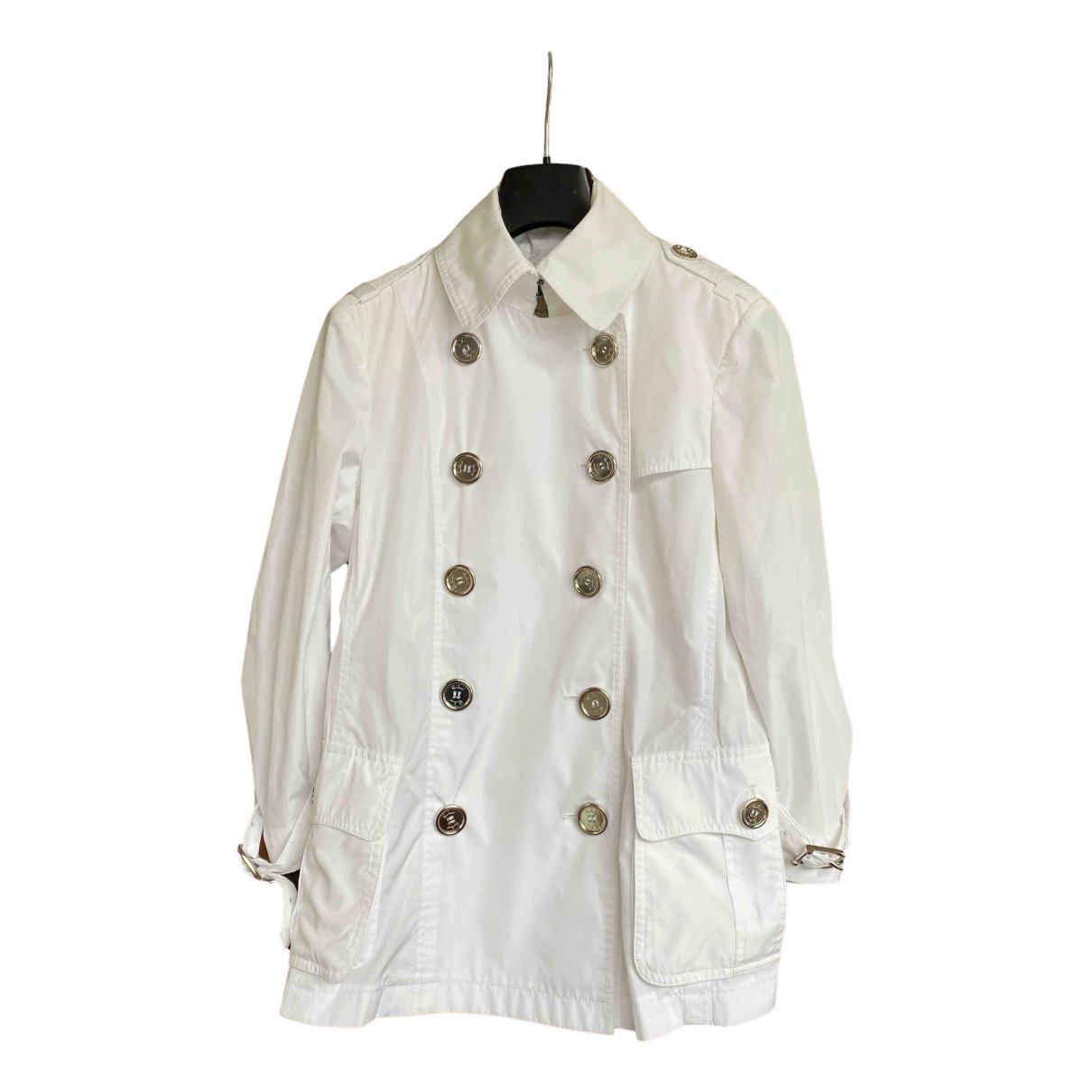 Burberry - Veste   pour femme - blanc