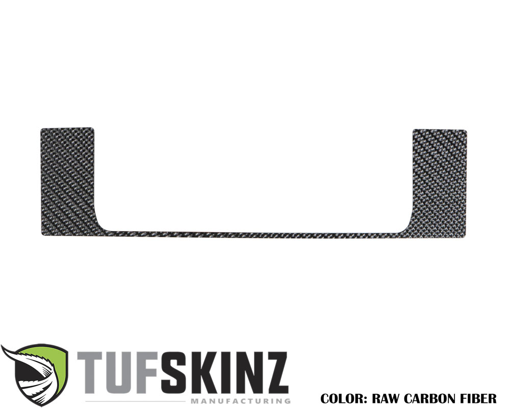 Tufskinz RUN010-RCF-X Above Center Air Vent Accent Trim Fits 14-up Toyota 4Runner 1 Piece Kit in Raw Real Carbon Fiber