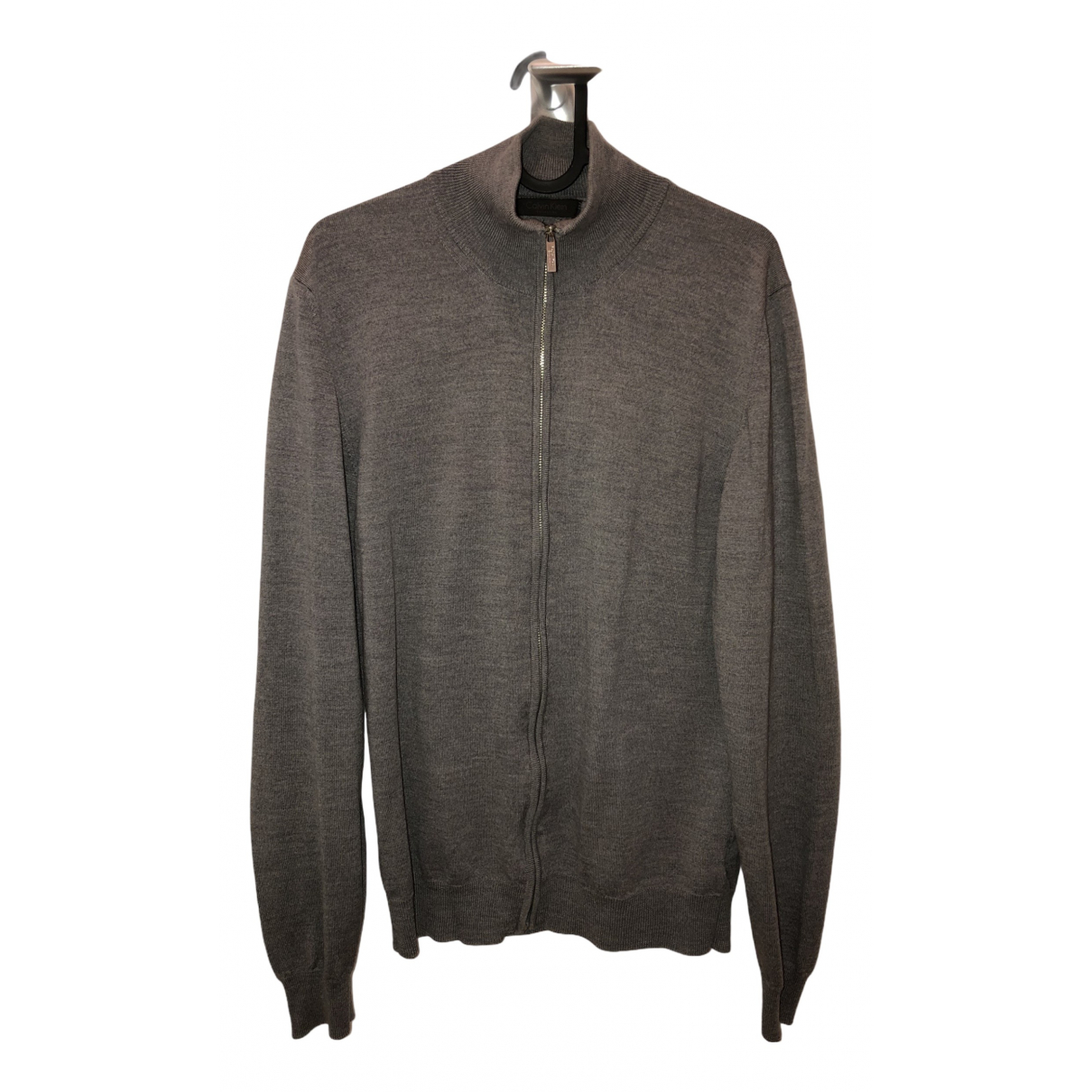 Calvin Klein N Grey Wool Knitwear & Sweatshirts for Men L International