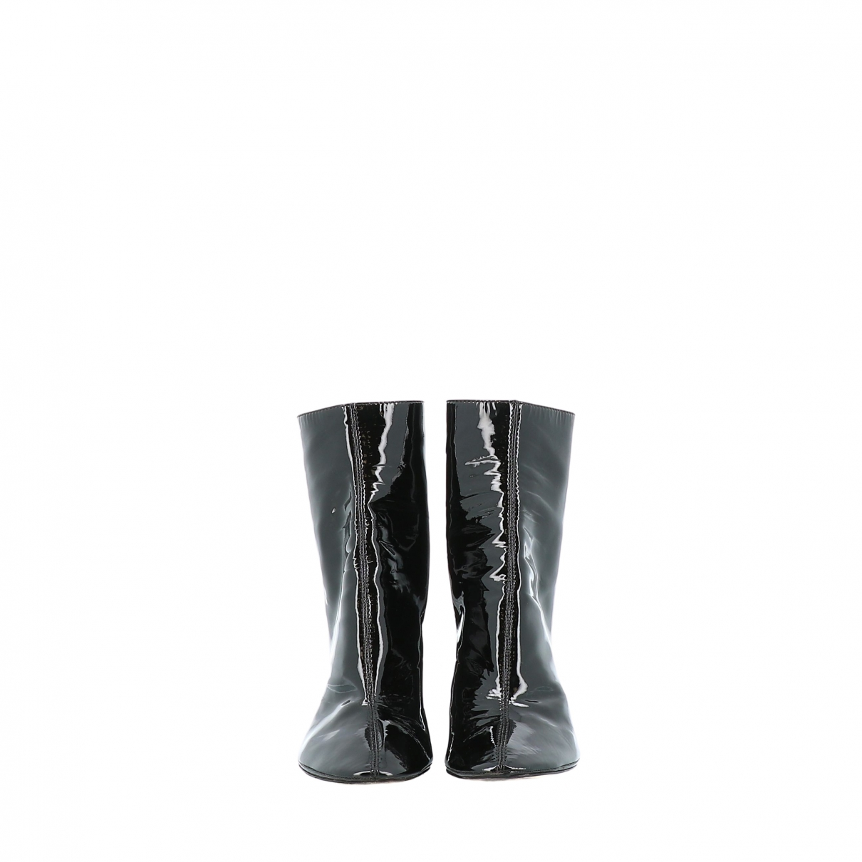 Dior \N Black Patent leather Ankle boots for Women 40 EU