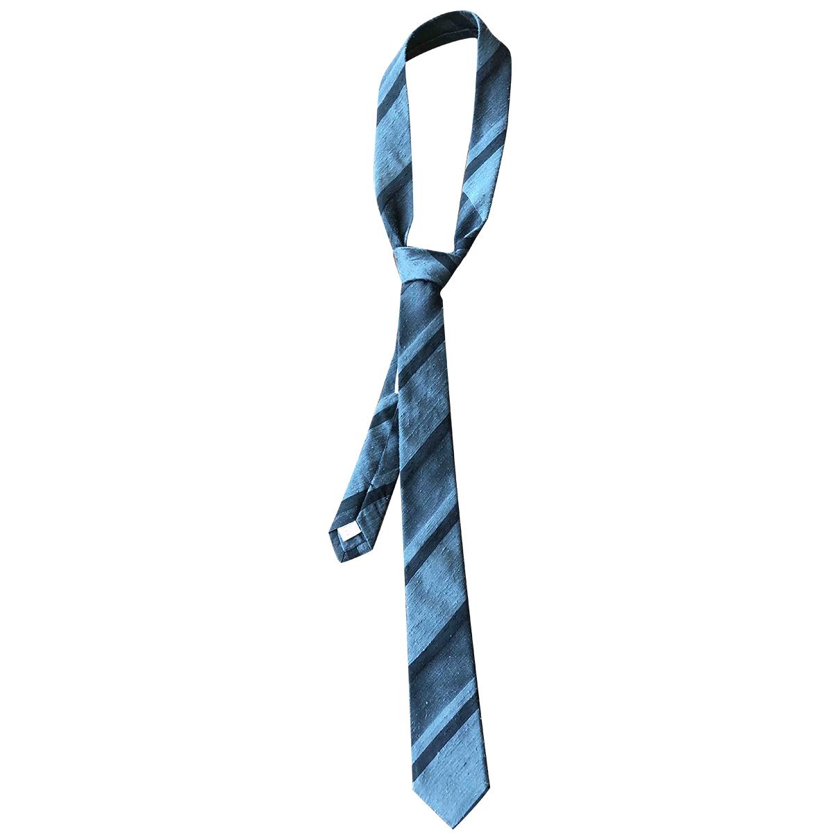Burberry \N Krawatten in  Anthrazit Seide