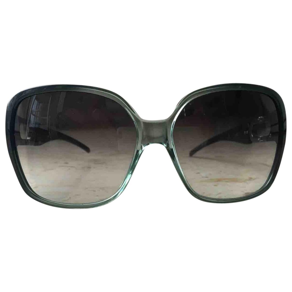 Jimmy Choo \N Sonnenbrillen in  Gruen Kunststoff