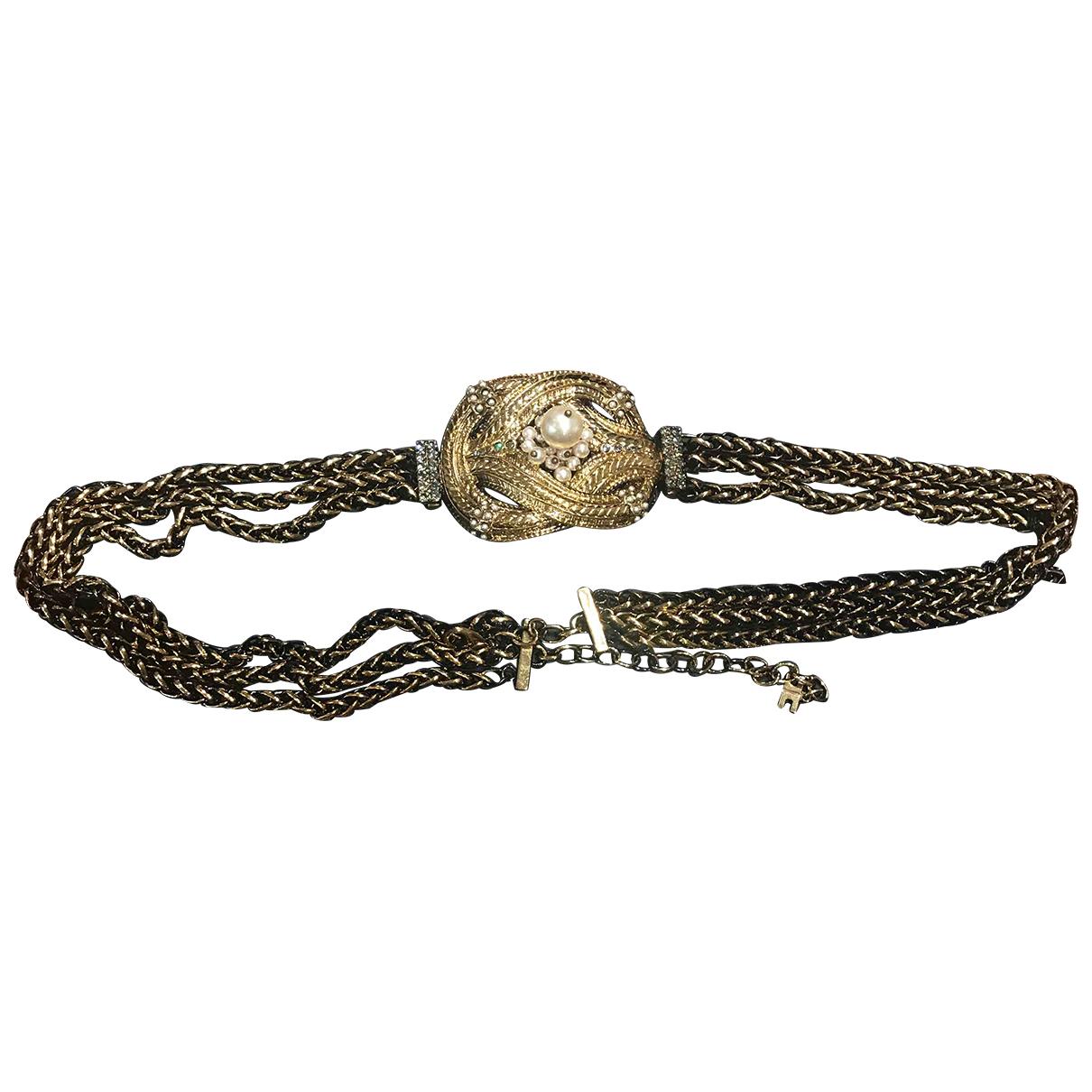Elisabetta Franchi \N Gold Chain belt for Women S International