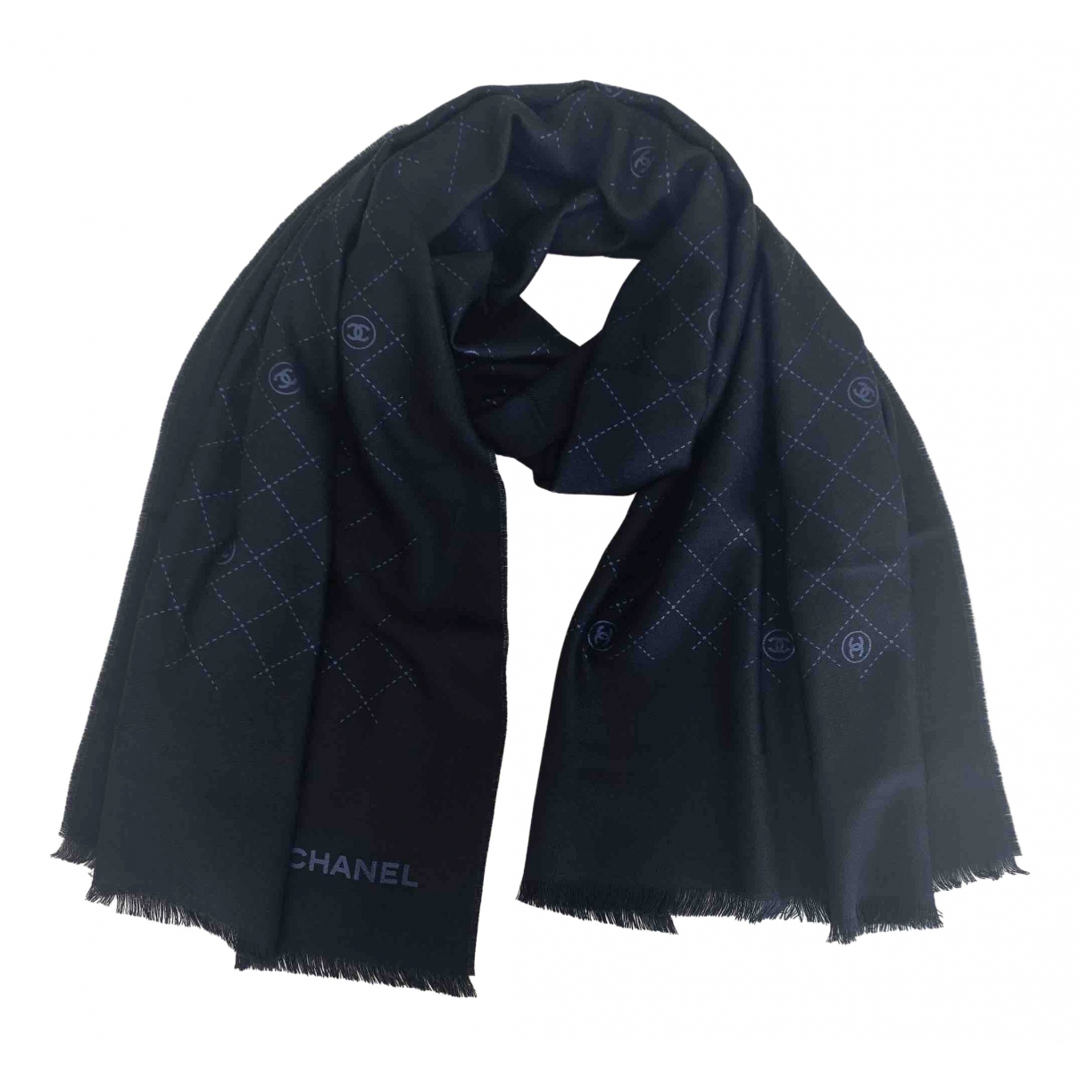 Chanel \N Black Wool scarf for Women \N