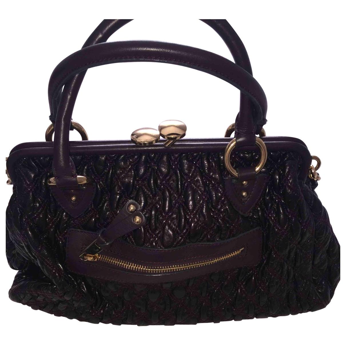 Marc Jacobs Stam Handtasche in  Lila Leder