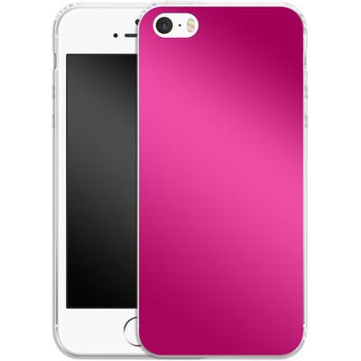Apple iPhone SE Silikon Handyhuelle - Test Magenta von caseable Designs