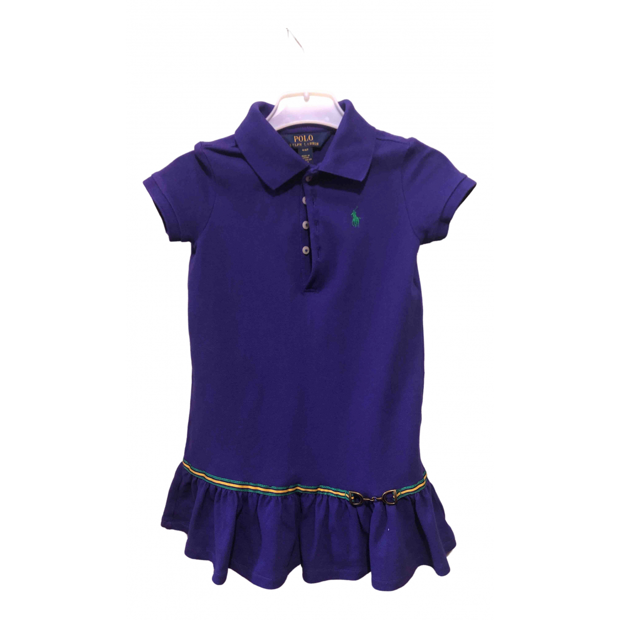 Polo Ralph Lauren \N Purple Cotton dress for Kids 4 years - up to 102cm FR