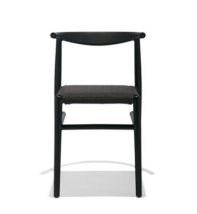 Joi TO-1520B-A Twenty Chair/Black with Anthracite Seat