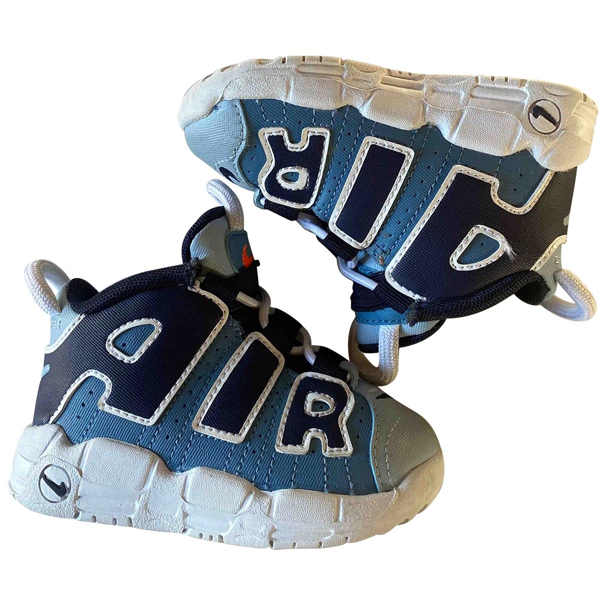 Nike - Baskets   pour enfant en cuir - bleu