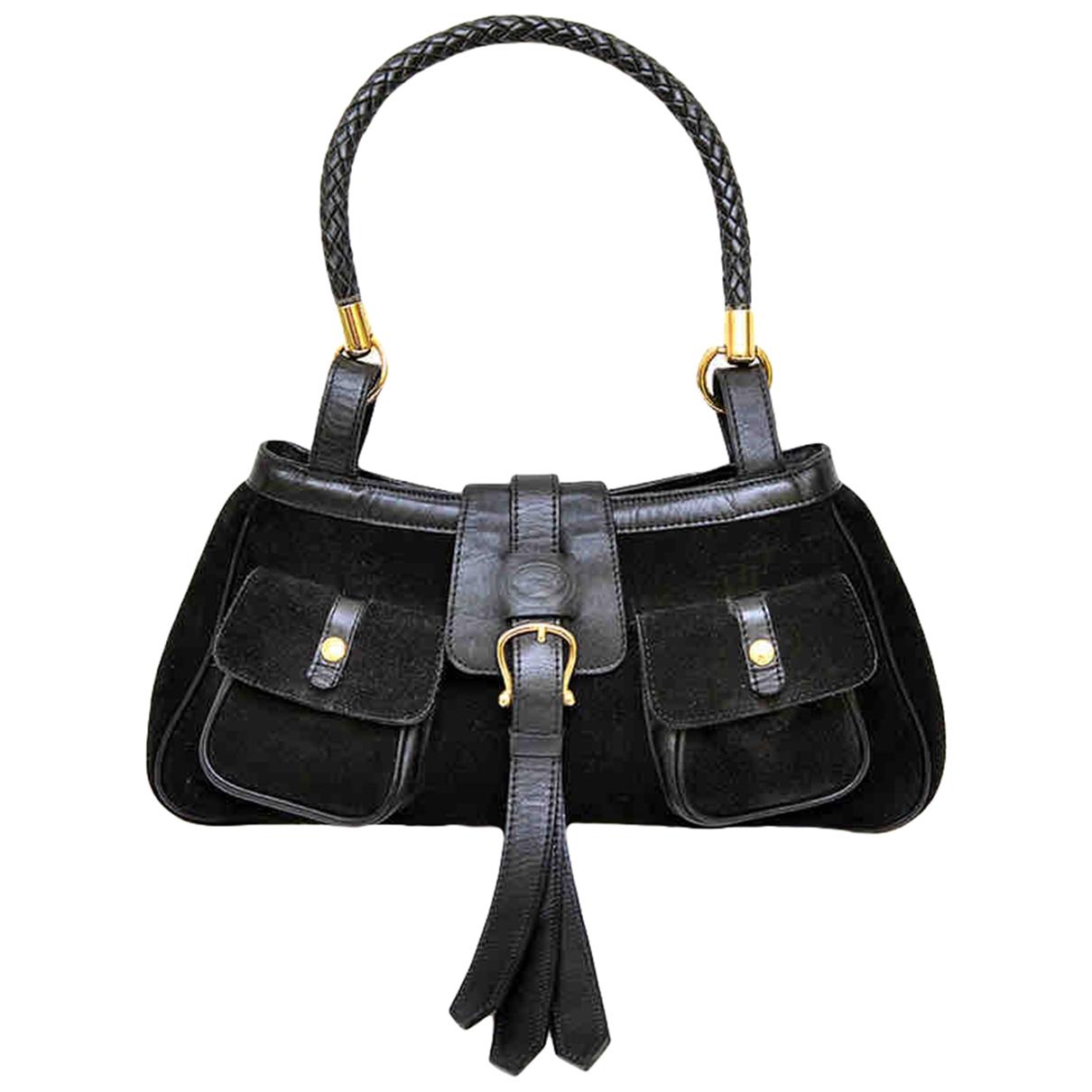 Burberry \N Black Suede handbag for Women \N