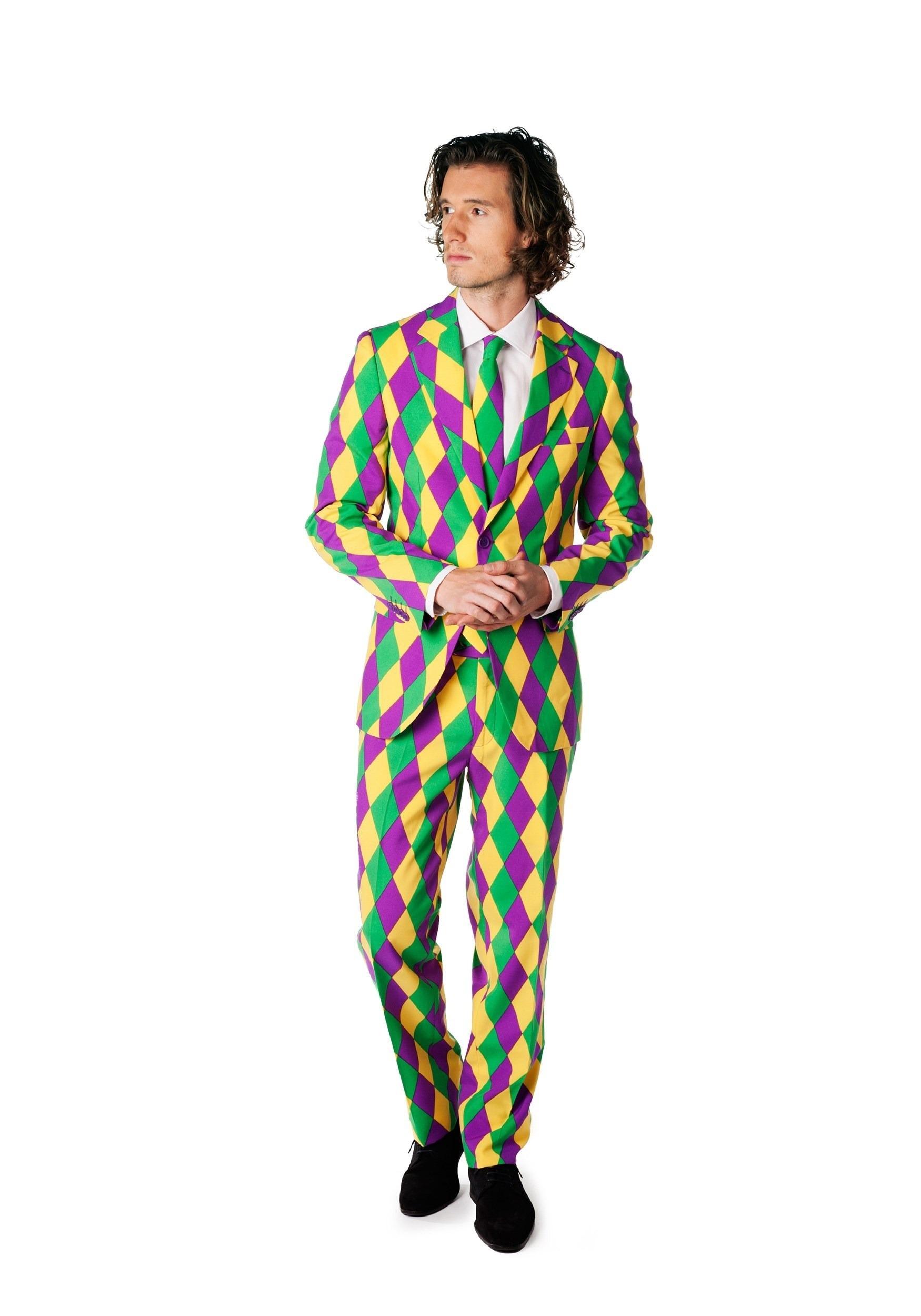 Men's OppoSuits Mardi Gras Costume Suit