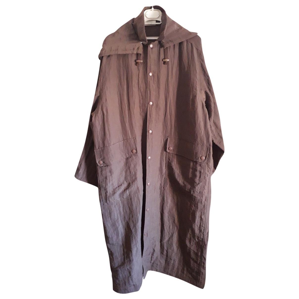 Issey Miyake \N Brown coat  for Men M International