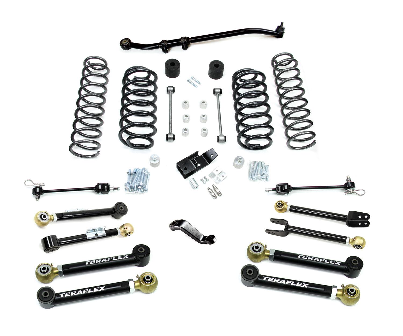 Jeep TJ/LJ 4 Inch Suspension System w/ 8 Flexarms No Shocks 97-06 Wrangler TJ/LJ TeraFlex 1456450