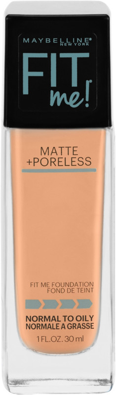 Fit Me Matte + Poreless Liquid Foundation - Buff Beige 130
