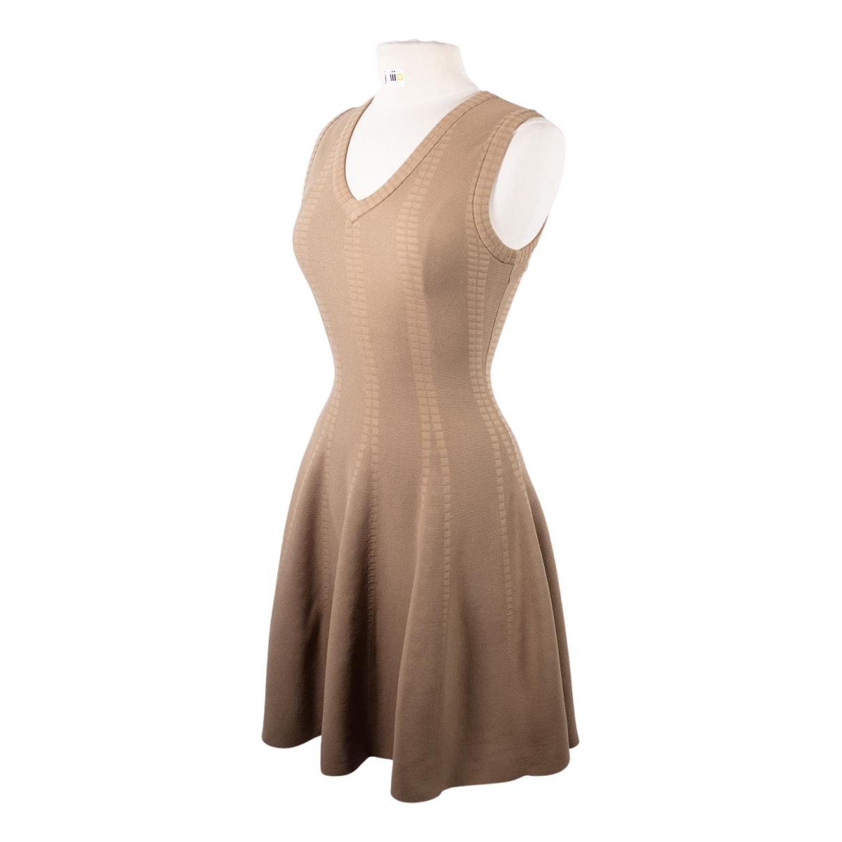 Rodier \N Kleid in  Beige Viskose