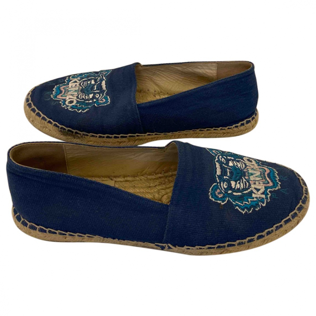 Kenzo \N Blue Cloth Espadrilles for Women 38 EU