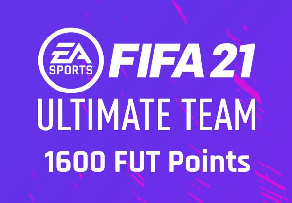 FIFA 21 - 1600 FUT Points UK PS4 CD Key