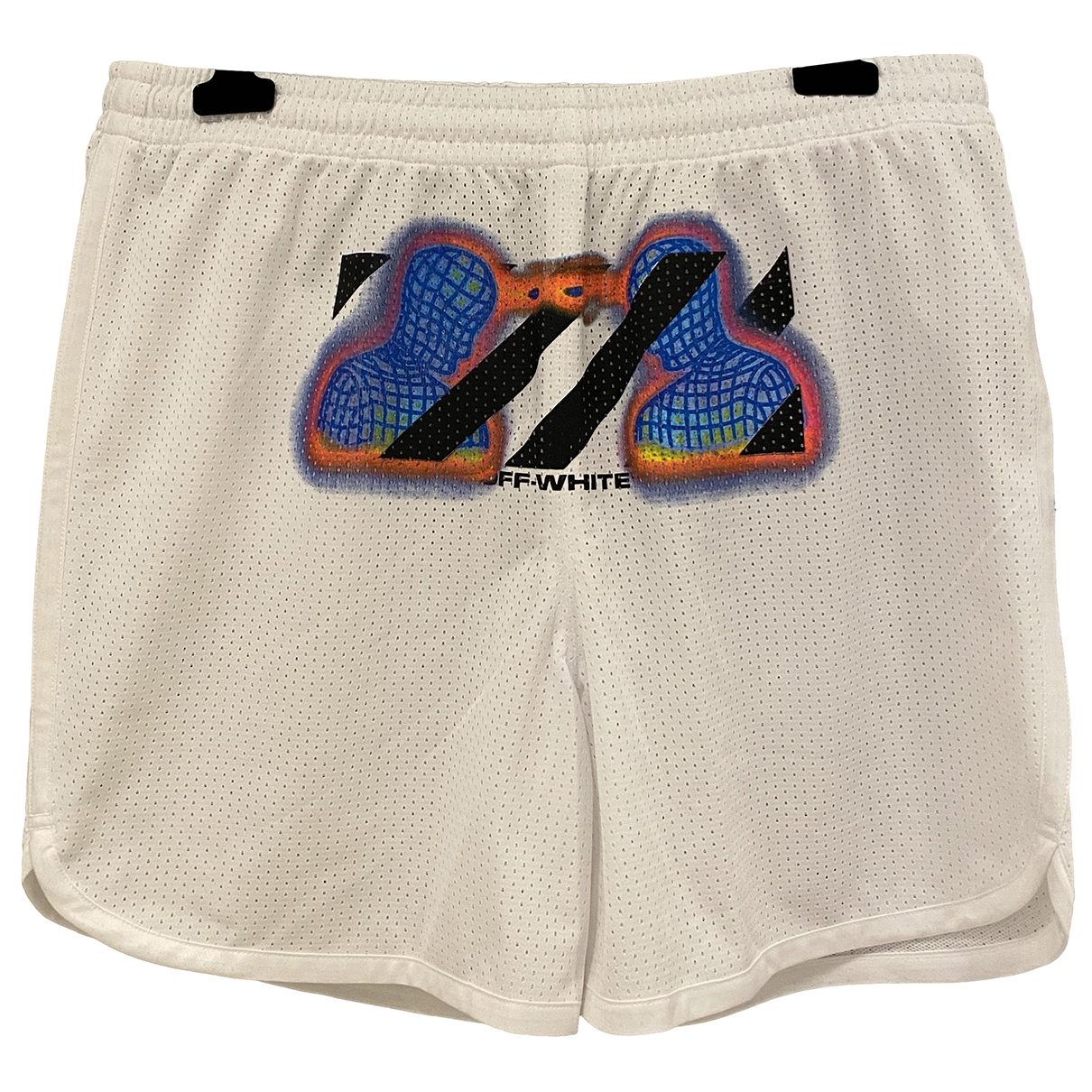 Off-white \N Shorts in  Weiss Polyester