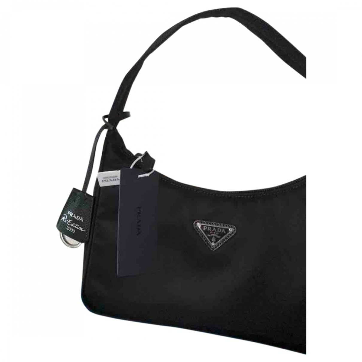 Prada Re-edition Black Cloth handbag for Women \N