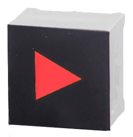 VCC Capacitive Touch Switch ,Illuminated, Red (10)