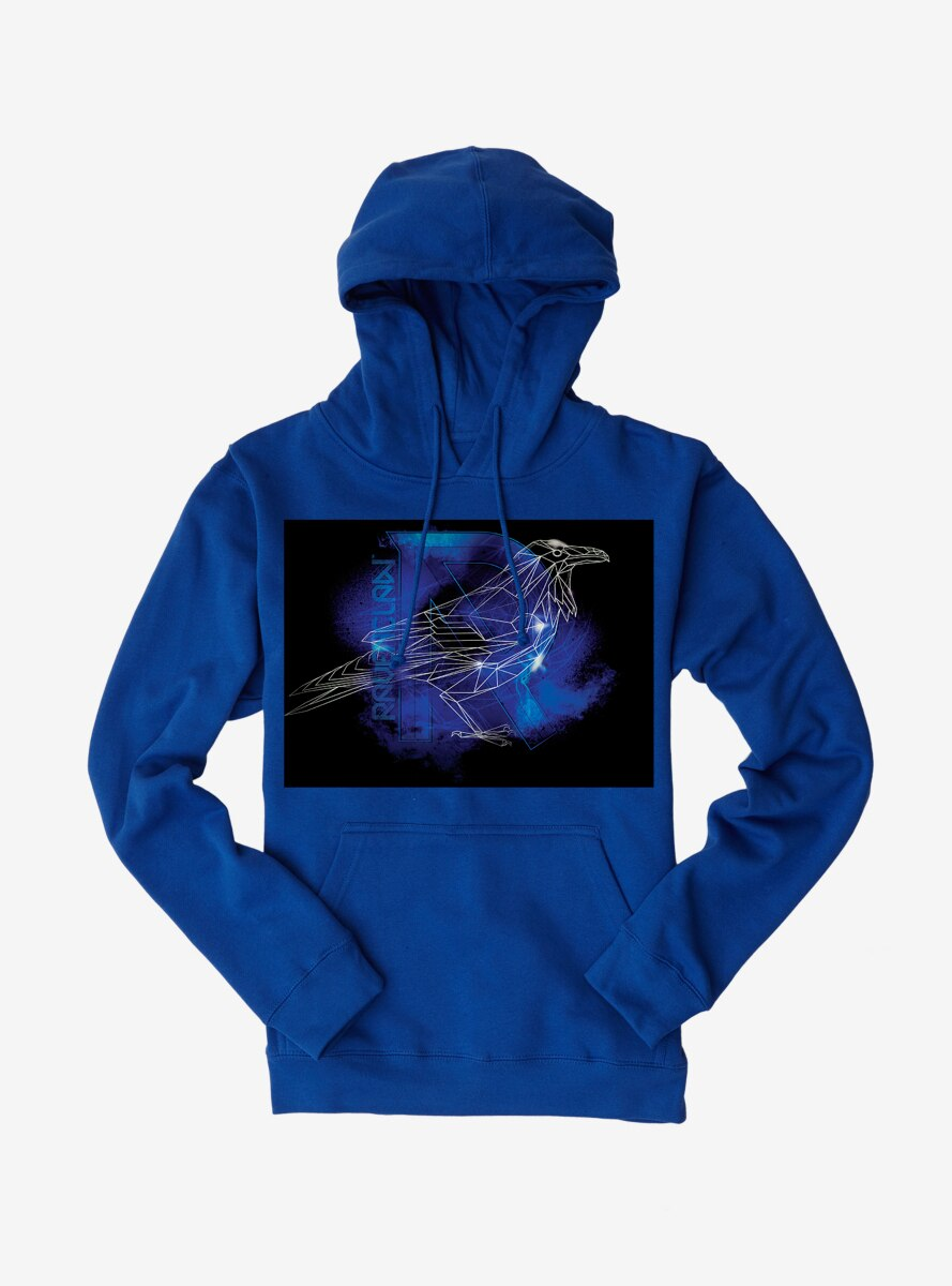 Harry Potter Ravenclaw Logo Outline Hoodie