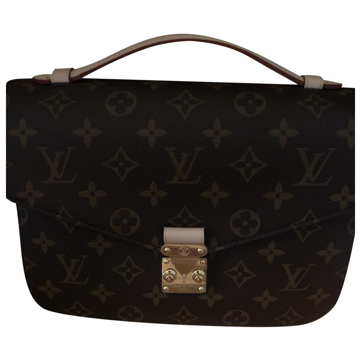 Louis Vuitton Metis Brown Cloth Clutch bag for Women \N