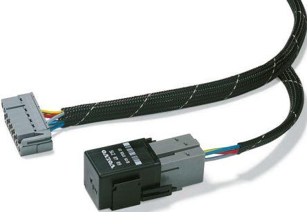 HellermannTyton Expandable Braided PET Black Cable Sleeve, 30mm Diameter, 50m Length