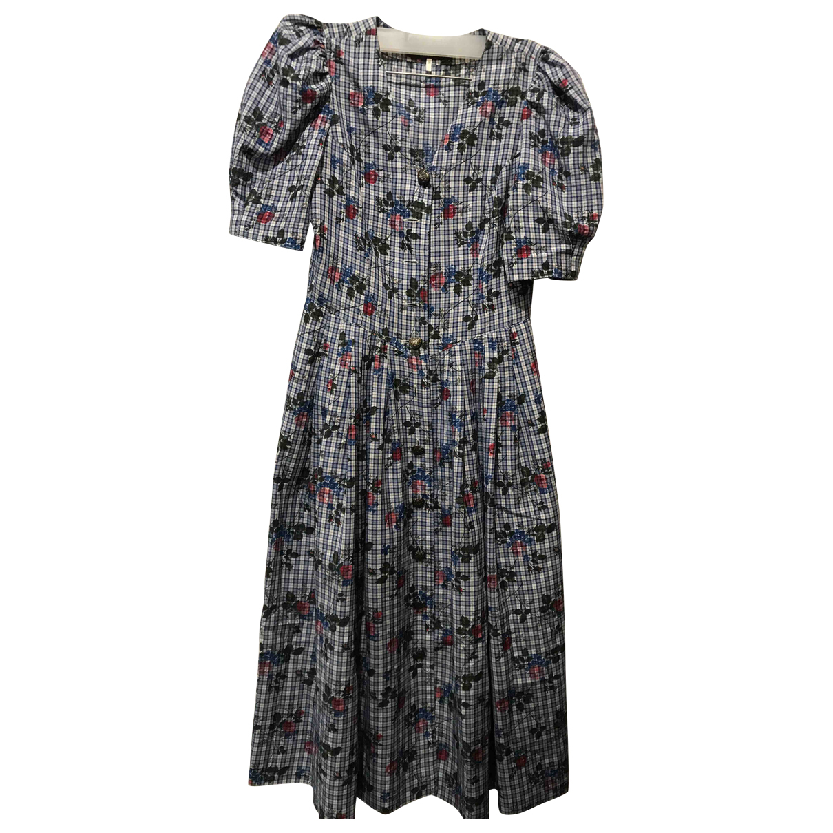 Non Signe / Unsigned \N Kleid in  Bunt Viskose
