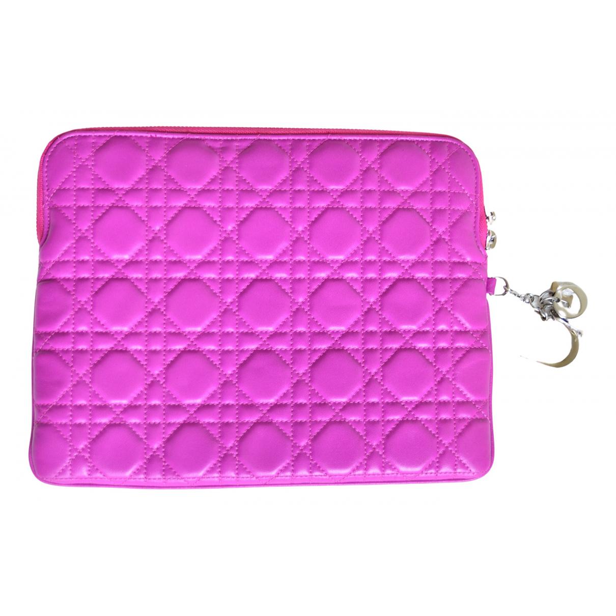 Dior - Accessoires   pour lifestyle en cuir - rose