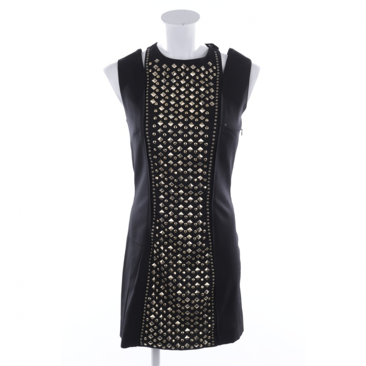 Pierre Balmain \N Kleid in  Schwarz Wolle