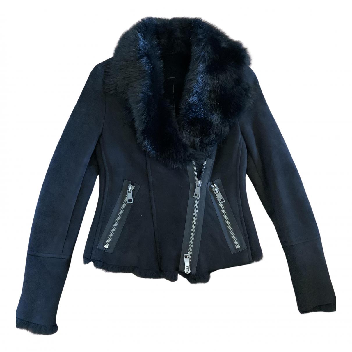 Burberry N Black Suede jacket for Women 40 IT