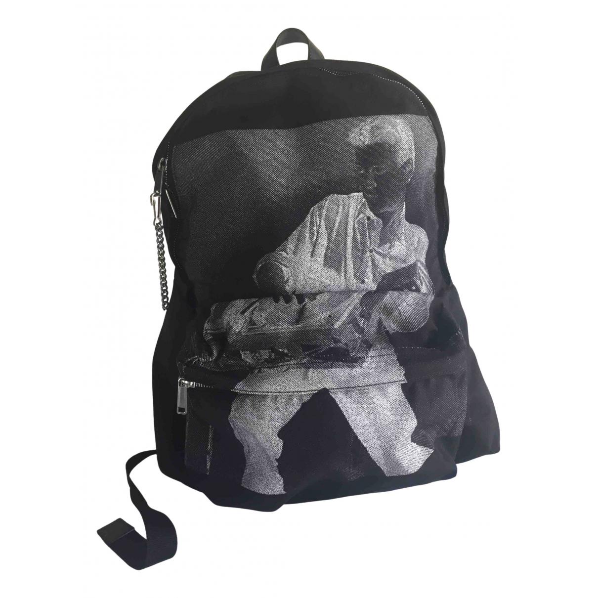 Celine \N Black Cloth bag for Men \N
