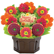 Cookie Flower Bouquet | Birthday Gift for Her