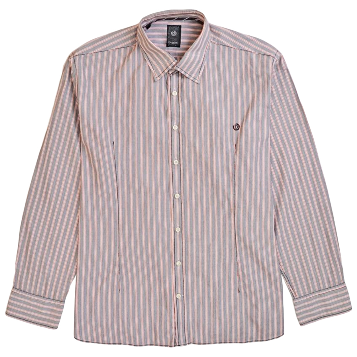 Bugatti \N Hemden in  Rosa Baumwolle