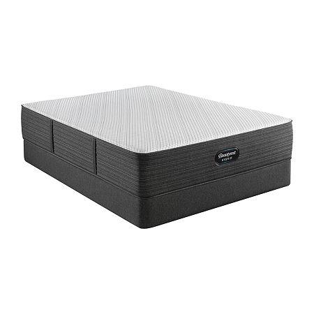Beautyrest Hybrid  BRX1000-C Plush - Mattress + Box Spring, One Size , Gray