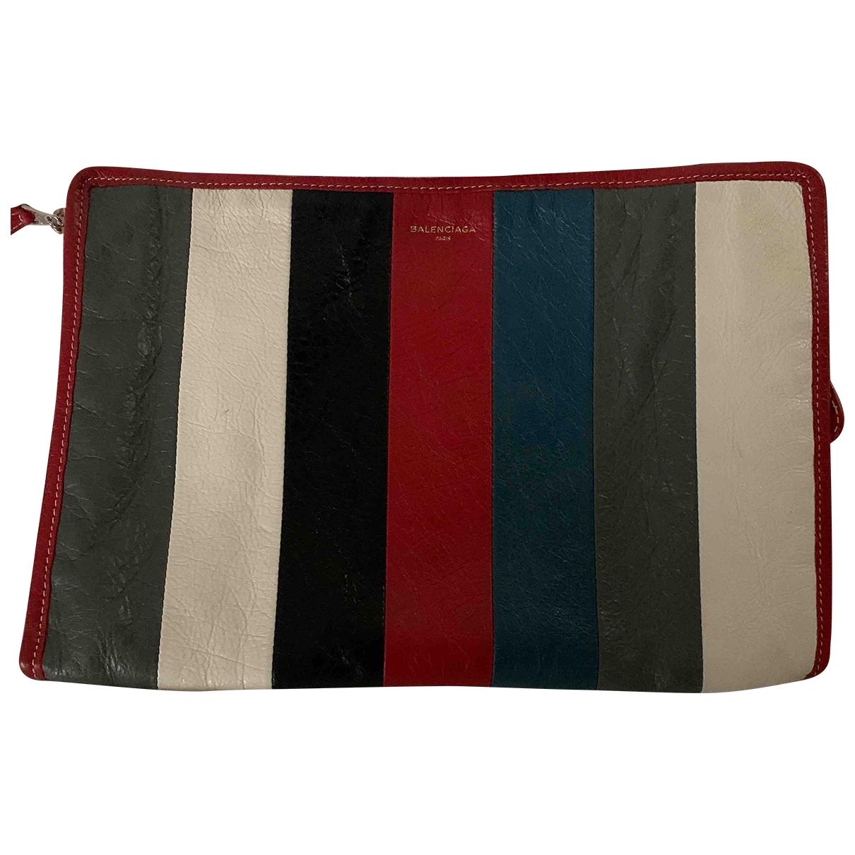 Pochette Bazar Bag de Cuero Balenciaga