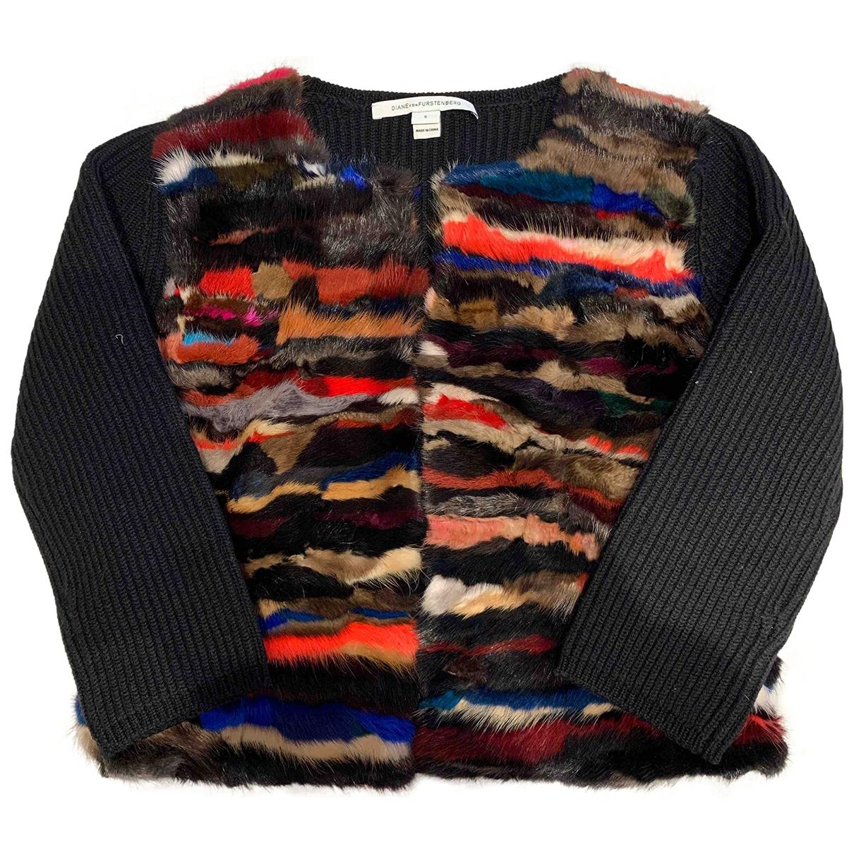 Diane Von Furstenberg \N Multicolour Mink Knitwear for Women S International