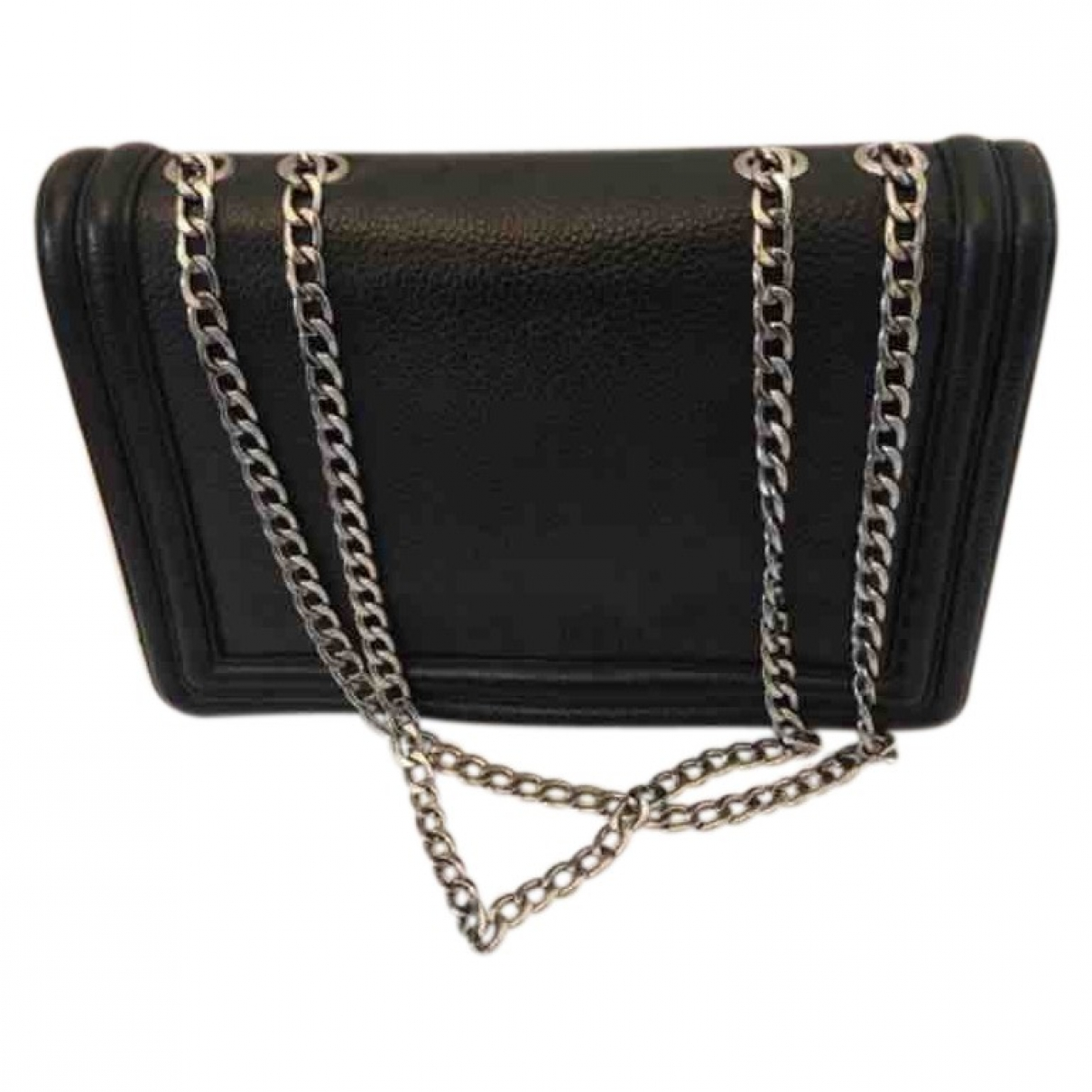Lina Brax \N Black Leather handbag for Women \N