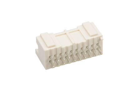 JST , PAD, B20B, 20 Way, 2 Row, Straight PCB Header (5)