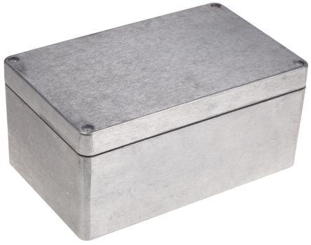Deltron 486, Natural Aluminium Enclosure, IP68, Shielded, 260 x 160 x 120mm