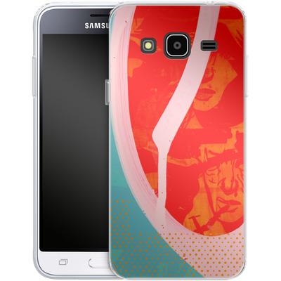 Samsung Galaxy J3 (2016) Silikon Handyhuelle - Saturated Wall von Brent Williams