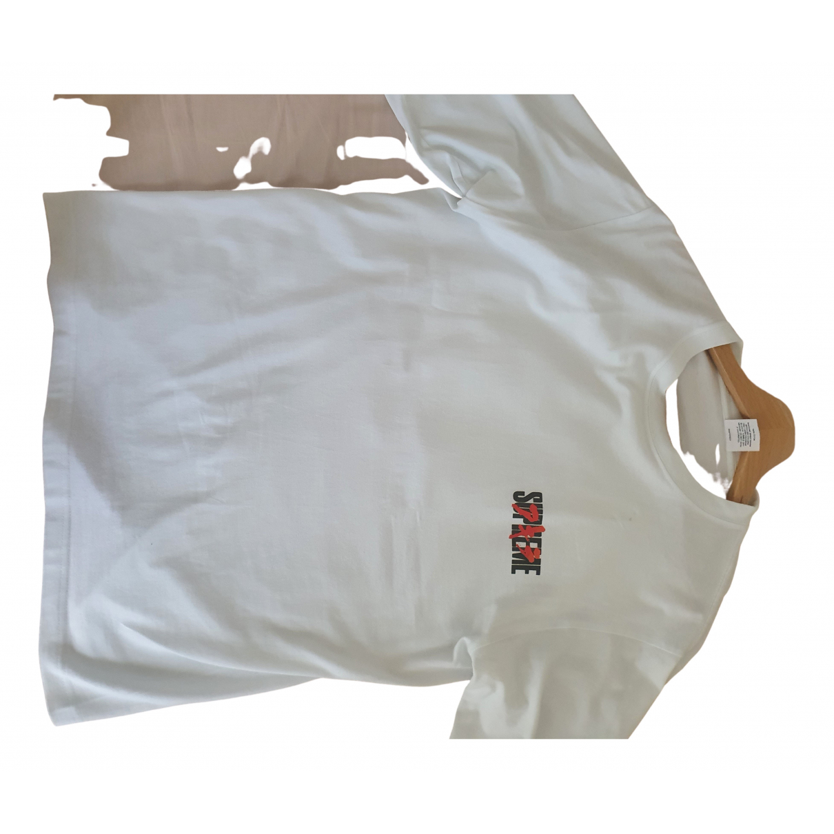 Supreme N White Cotton Knitwear & Sweatshirts for Men M International